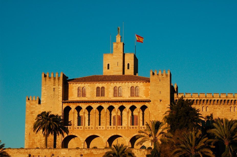 Almudaina Palace Palma de Majorca