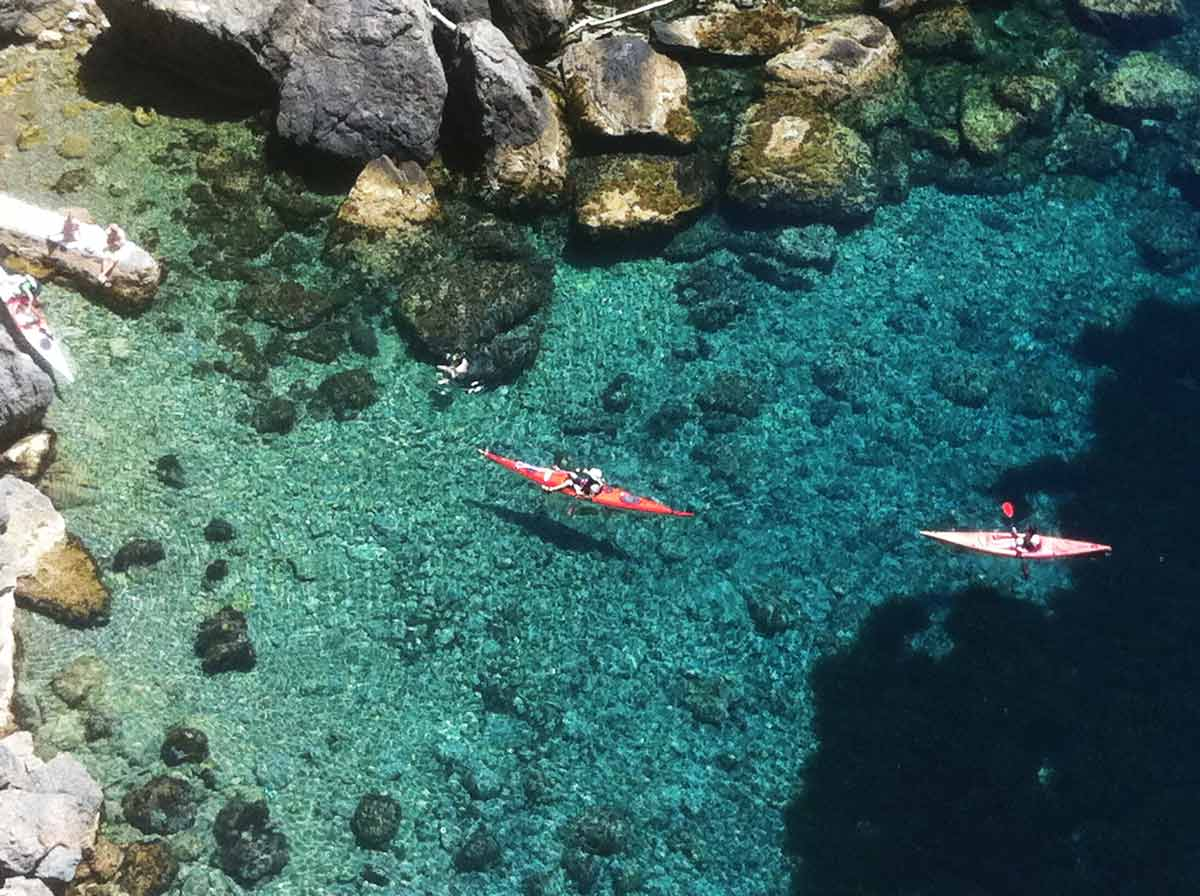 kayaking guided trips majorca
