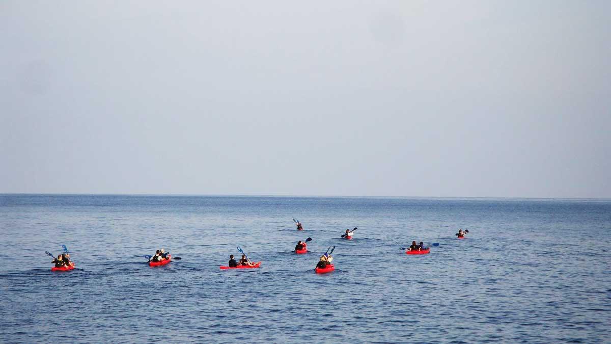 Sea kayaking Majorca