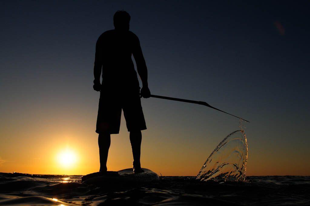 SUP Mallorca, sunset trip