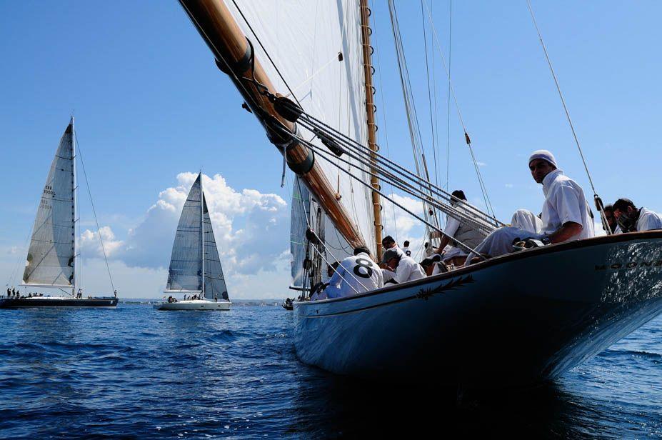 Saling regatta Palma de Mallorca