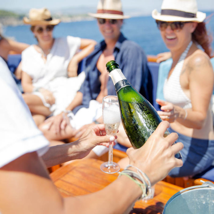 Luxury classic yacht trip