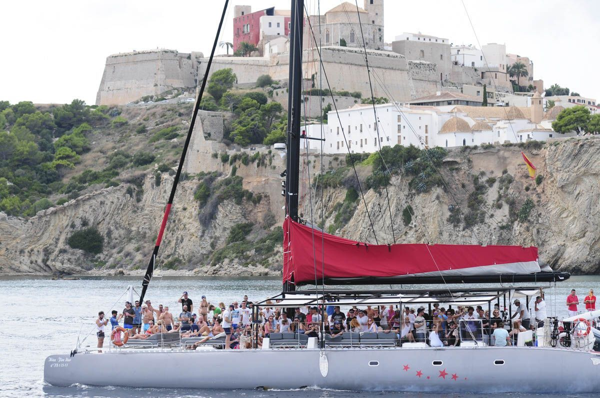 catamaran trip Ibiza