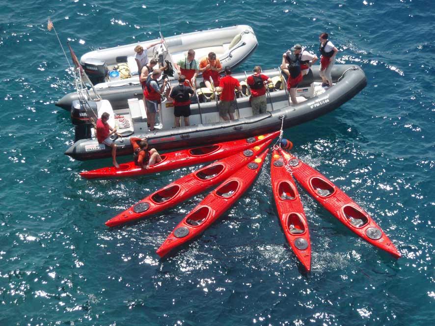 sea kayaking in Majorca