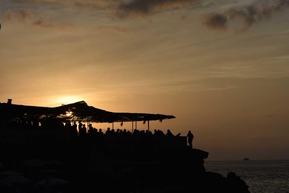 best sunset bar in Ibiza